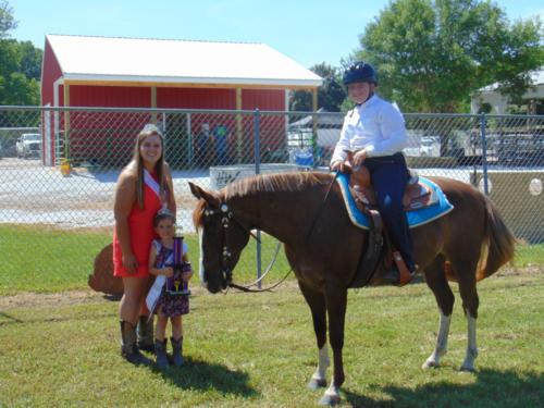 Champion Horsemanship Sophia Wuebker