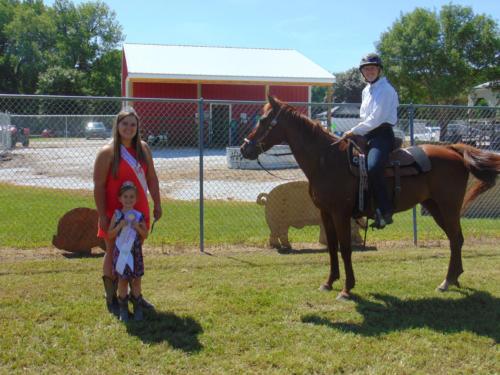 Reserve Champion Horsemanship Kilynn Westcott