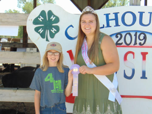 Reserve Grand Champion Junior Showmanship Julia Kanne (1)